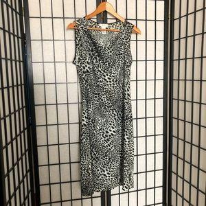 BCBG MaxAzria Dress. Animal print. Size L